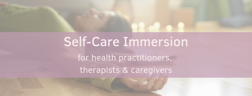 Self-Care Immersion Banner